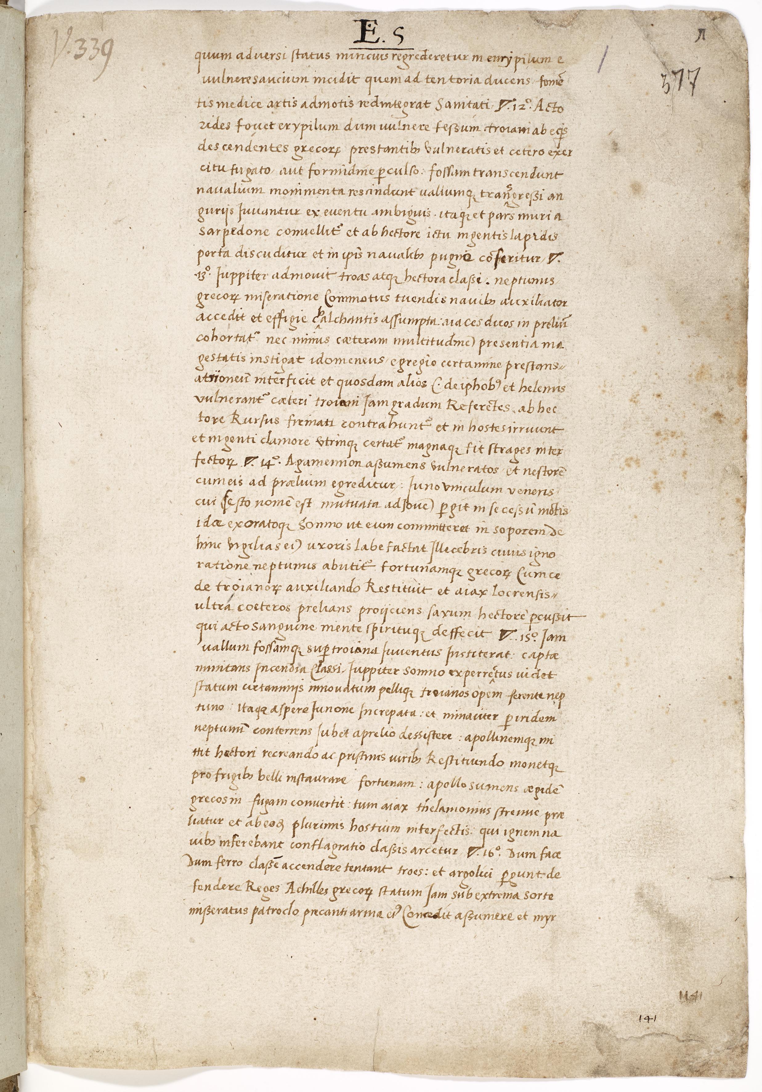 AM 377 fol., f. 1r