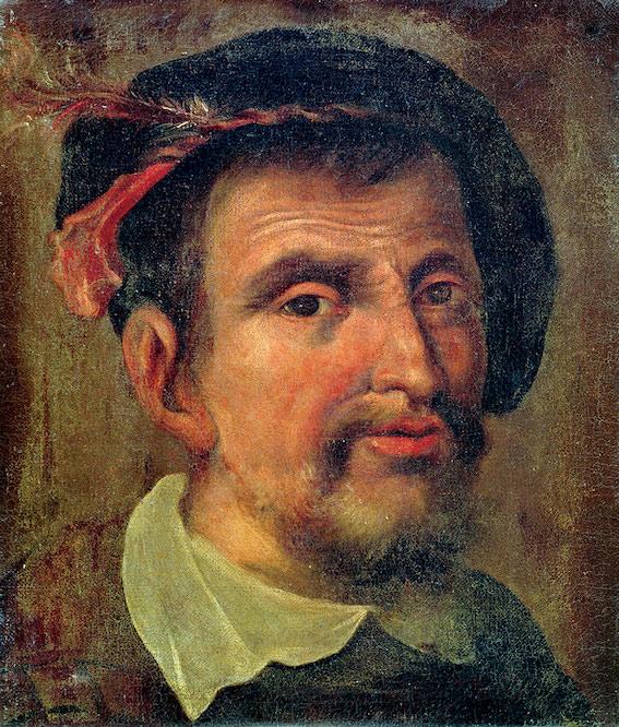 Portræt af Hernando Colón