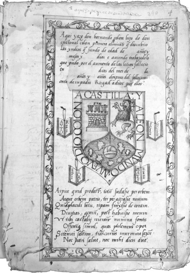 Hernando Colóns våbenskjold