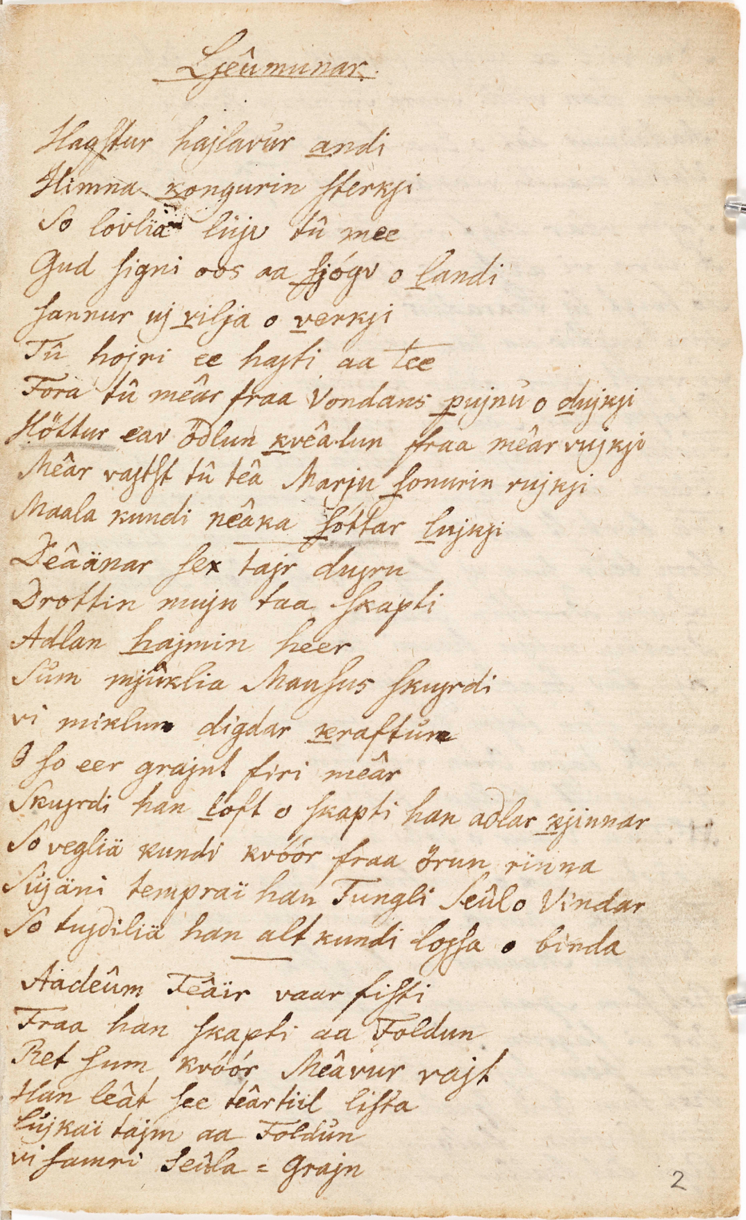Read more about: Rask 113: A Ballad Manuscript in Two Parts